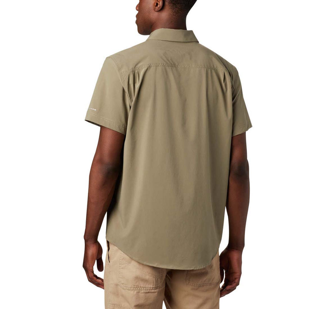 Columbia Mens Triple Canyon Short Sleeve Solid Shirt