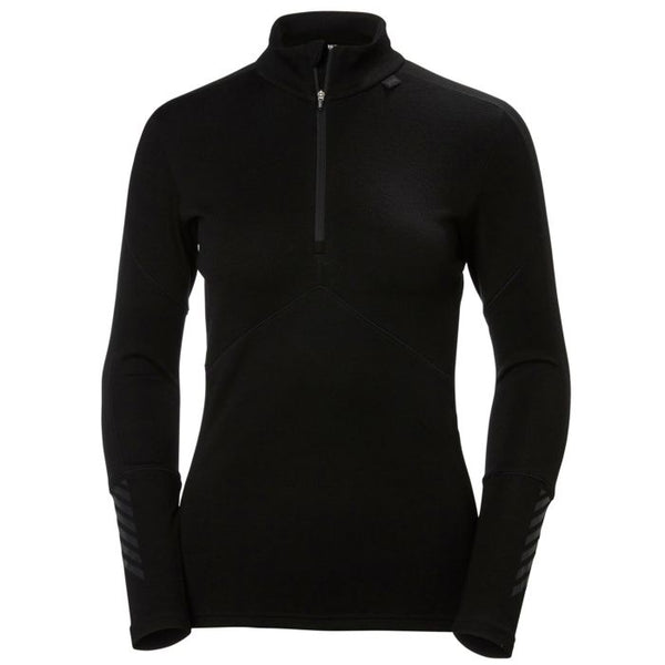 Helly Hansen Womens Lifa Merino 1/2 Zip Base Layer