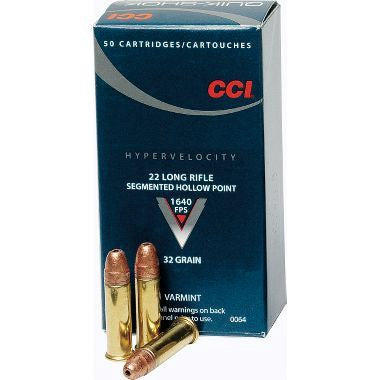 CCI .22LR Segmented Hollow Point