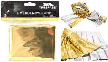 Trespass Foil Emergency Blanket