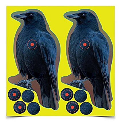 "Birchwood Casey Shoot-N-C 8"" Crow Reactive Targets"