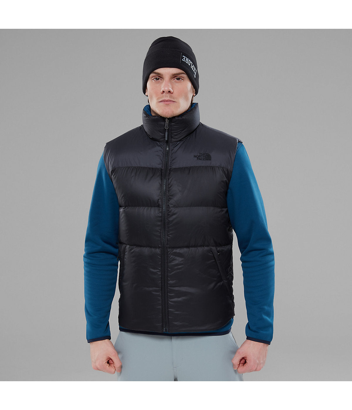 2db51e6727c8 The North Face Mens Nuptse III Zip-In Gilet - Outdoor Sports