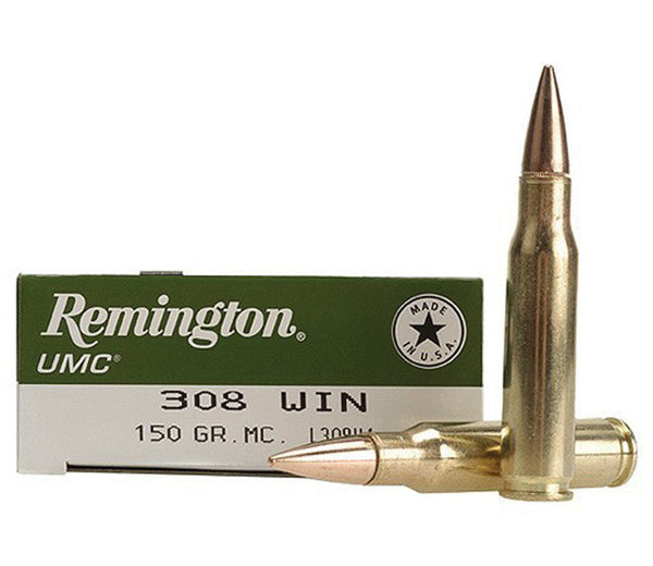 Remington .308 150 gr Metal jacket
