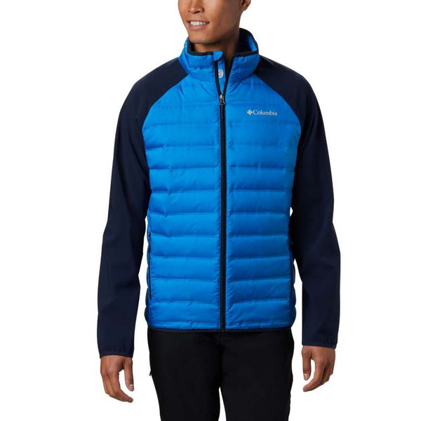 Columbia Mens Lake 22 Hybrid Down Jacket