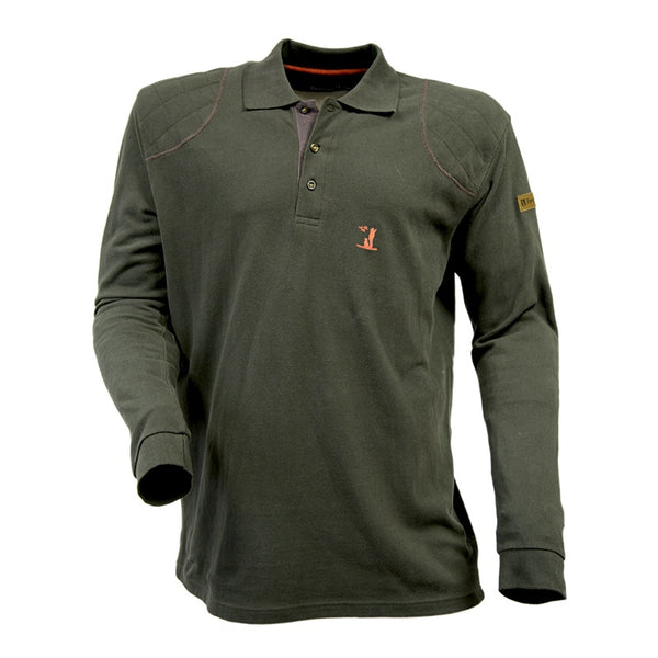 Percussion Long Sleeve Polo