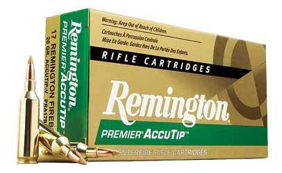 Remington .17Rem 20gr Accutip