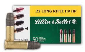 Sellier & Bellot .22LR 38g HP