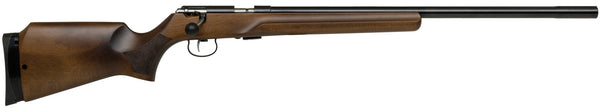 "Anschutz 64 MP R Hardwood Beavertail 25"" .22LR Rifle"