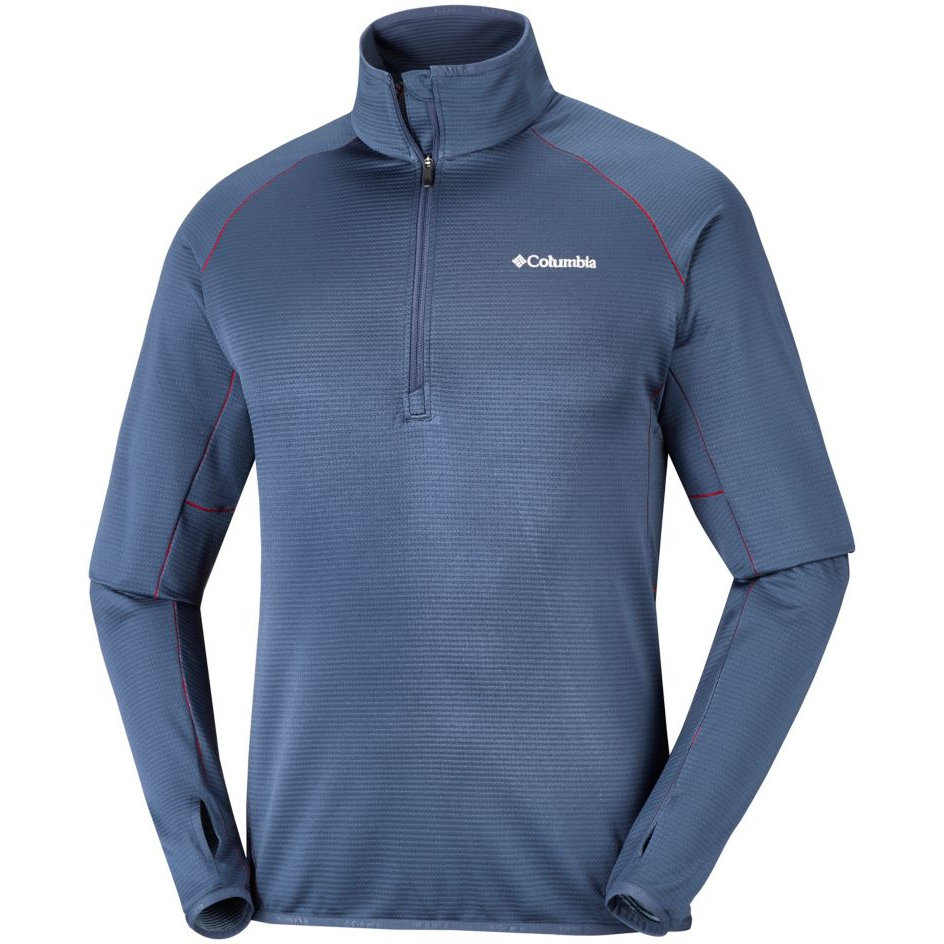 Columbia Mens Mount Powder Half Zip Fleece