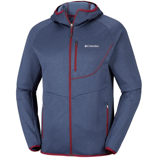 Columbia Mens Drammen Point Hooded Fleece
