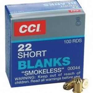 CCI .22 Short Blanks Smokeless