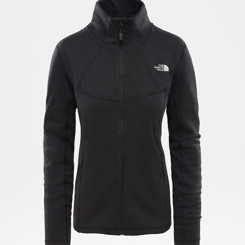 The North Face Womens Inlux Wool Full Zip Jacket