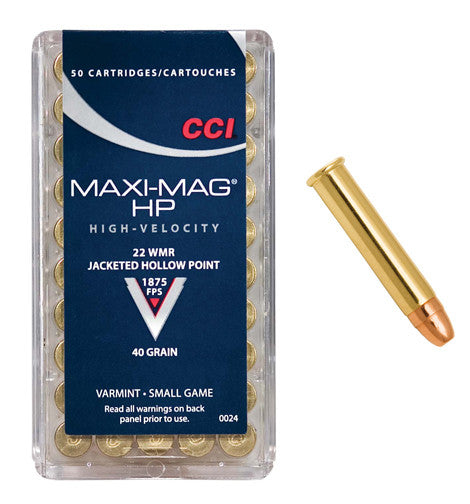 CCI .22 Magnum Hollow Point
