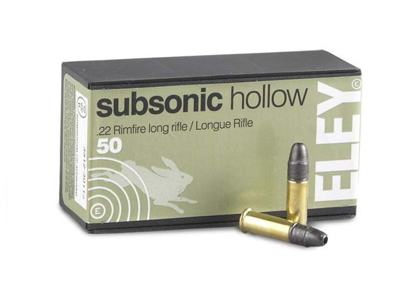 Eley .22LR Subsonic Rifle Ammunition