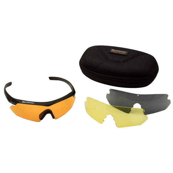 Deerhunter Shooting Glasses with Replaceable Glasses
