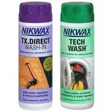 Nikwax Cleaner & Proofer Twin Pack