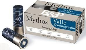 B & P MG2 Mythos 12g 40g Shotgun Shells