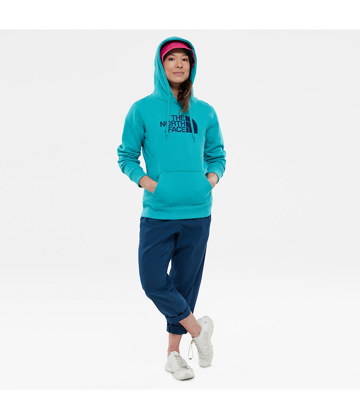 e642a22cb The North Face Womens Drew Peak Pullover Hoodie