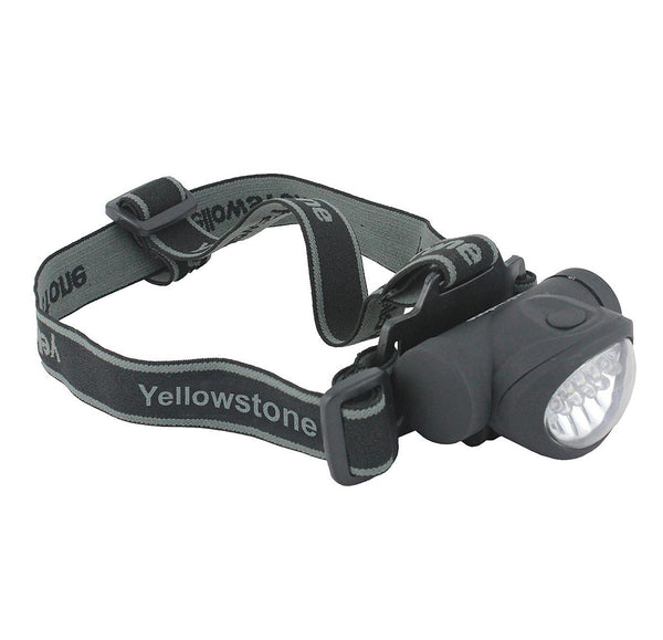 Yellowstone 8+2 LED Mini Head Torch