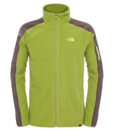 The North Face Mens Glacier Delta Full Zip Fleece