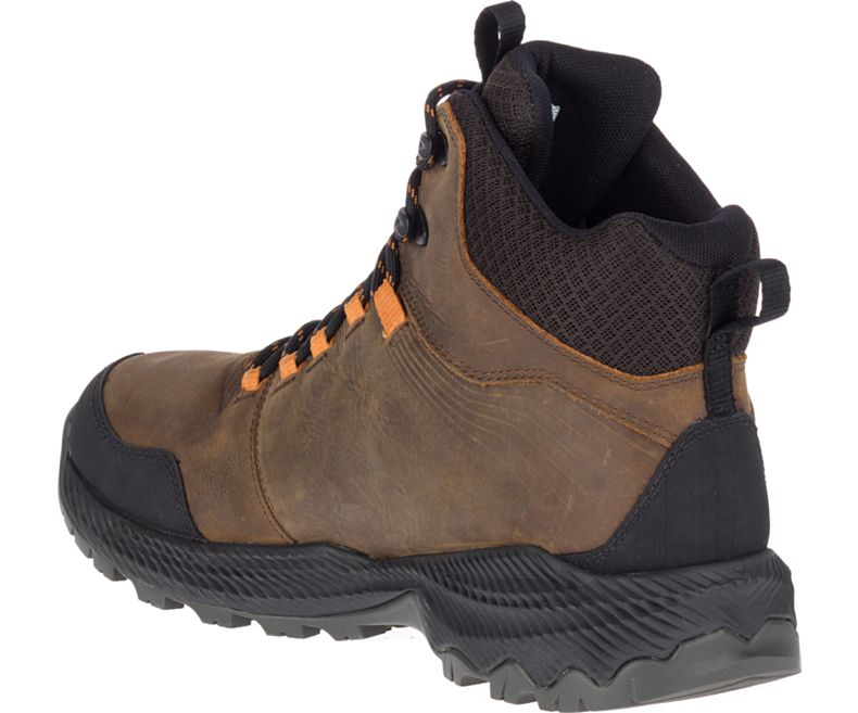 Merrell Mens Forestbound Mid Waterproof Boots