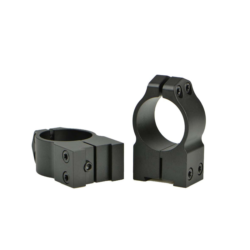 "Warne Scope Mount Maxima Series 2B1M CZ527 1"" High Matte Rings"