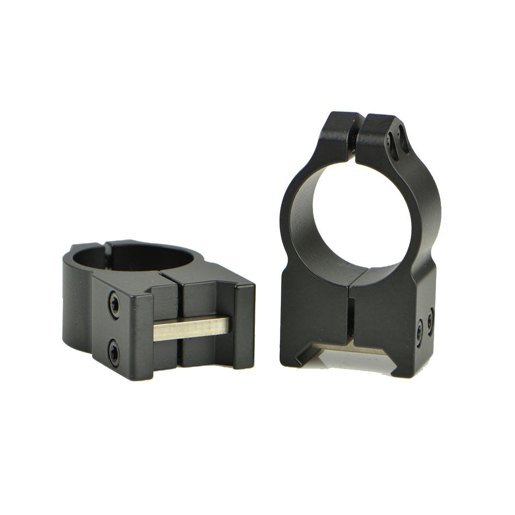 "Warne Scope Mounts Maxima Series 202M 1"" Fixed High Matte Rings"