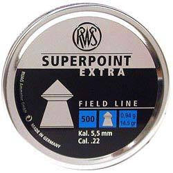 RWS Superpoint .22 Air Rifle Pellets