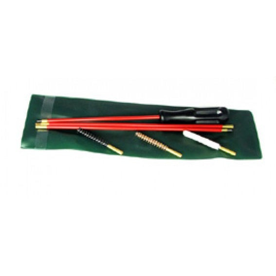 Wildhunter .22 3 Piece Cleaning Rod with 3 Brushes