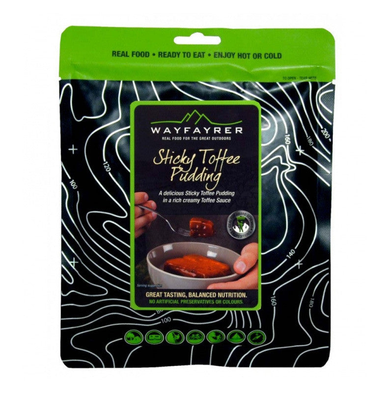 Wayfayrer Sticky Toffee Pudding Camping Meals