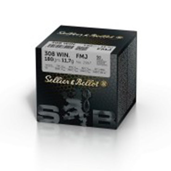 Sellier & Bellot .308 180gr FMJ