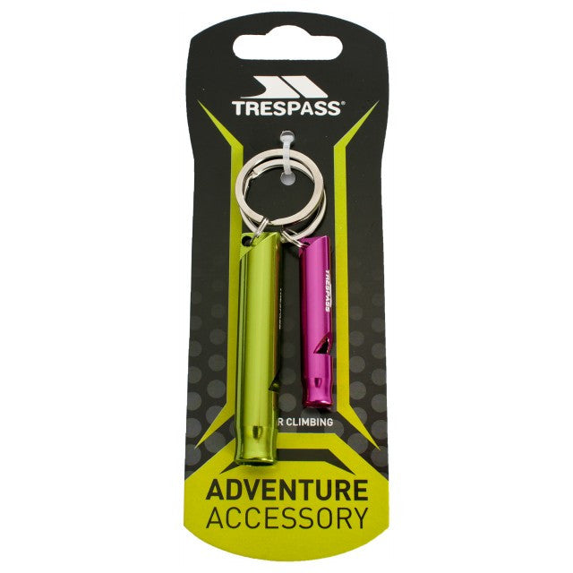 Trespass Blow X Whistle Keyring Set