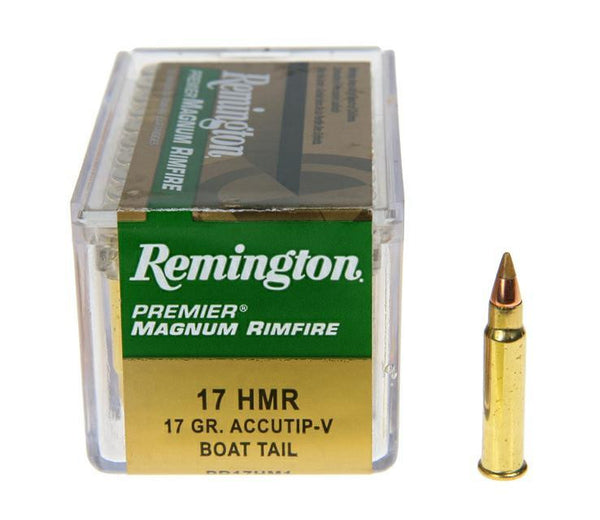 Remington .17HMR 17 gr V-Max