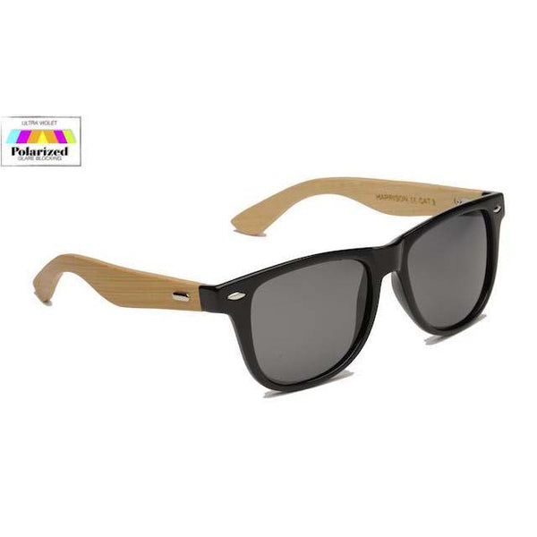 Eyelevel Harrison Polarized Sunglasses With Bamboo Temples