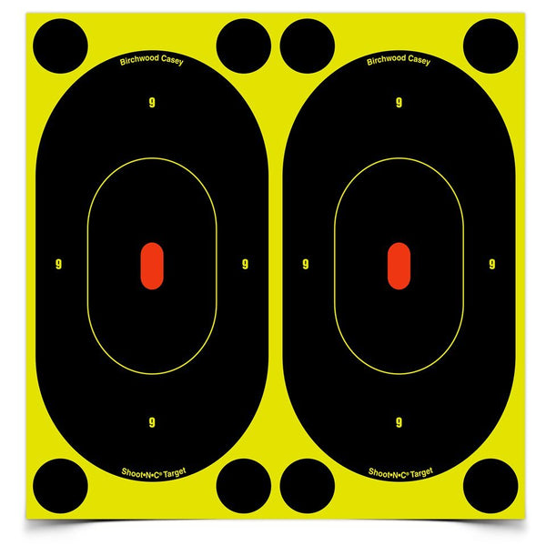 "Birchwood Casey Shoot-N-C 7"" Self-Adhesive Reactive Targets"