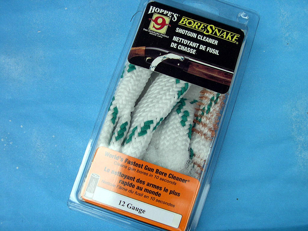 Hoppe's 9 BoreSnake cleaners for shotguns and rifles.