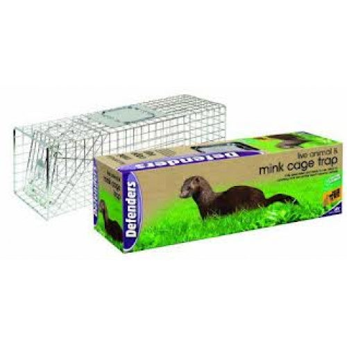 Mink Single Entry Cage Trap