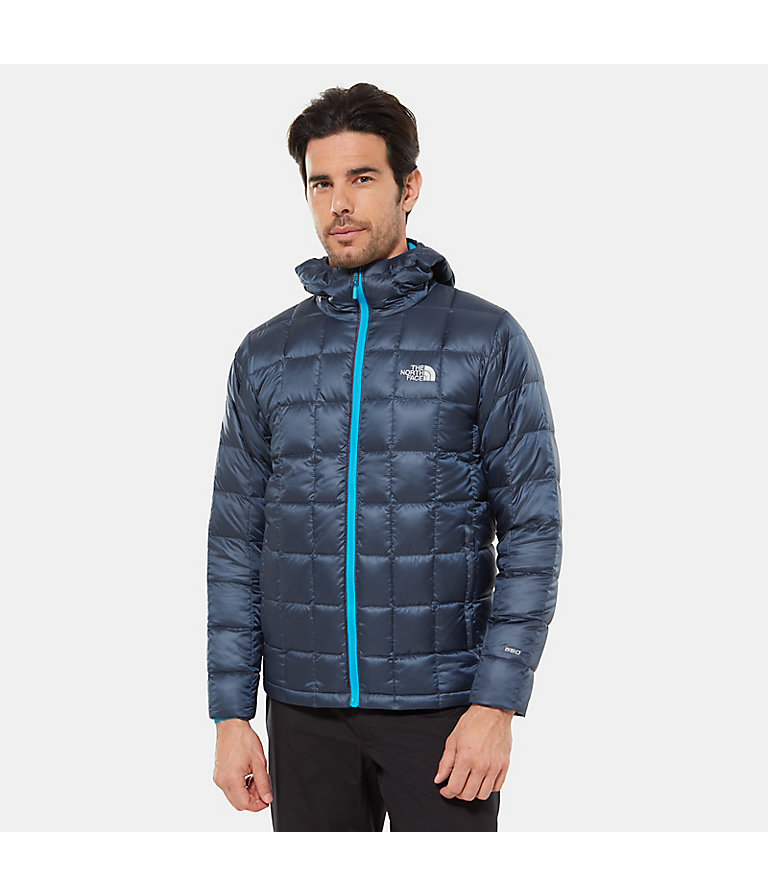 The North Face Mens Kabru Hooded Down Jacket