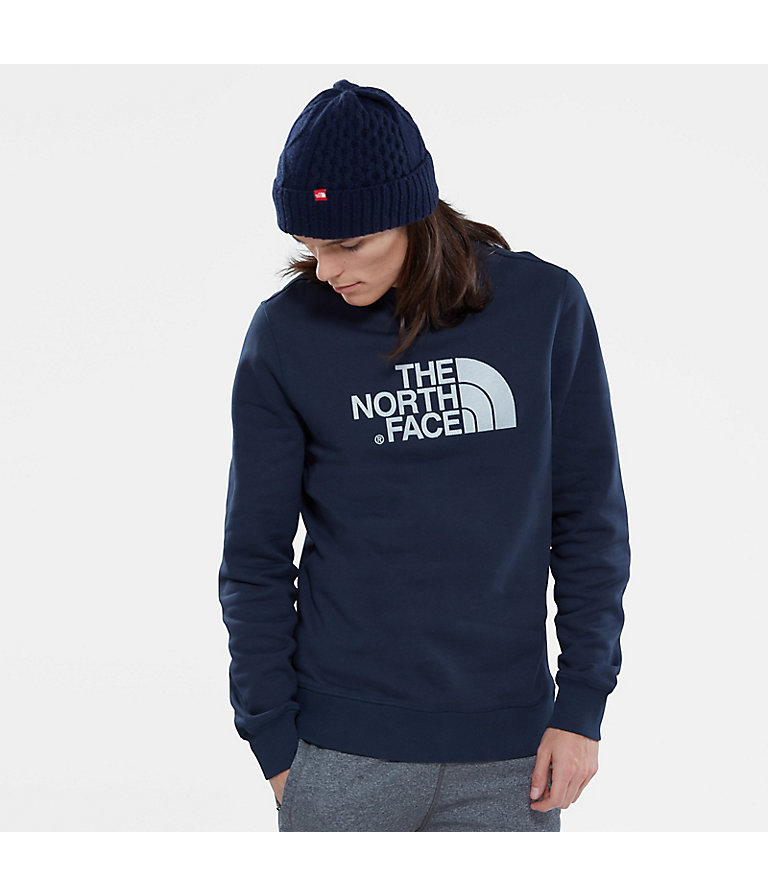 The North Face Mens Drew Peak Crew Pullover