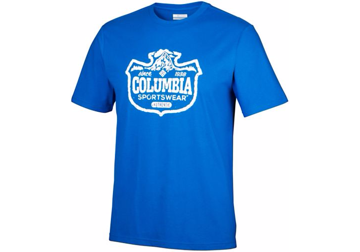 Columbia Mens CSC Mountain Shield Tee