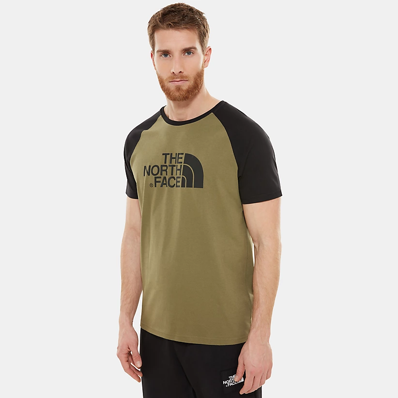 The North Face Mens S/S Raglan Easy Tee