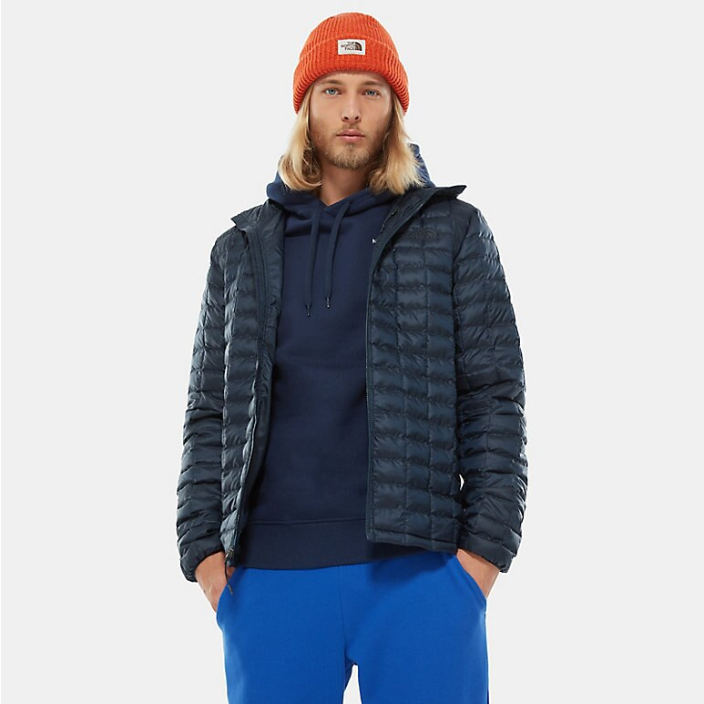 The North Face Mens Thermoball Hooded Eco Packable Jacket