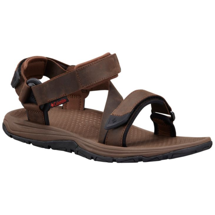 Columbia Mens Big Water Leather Sandal