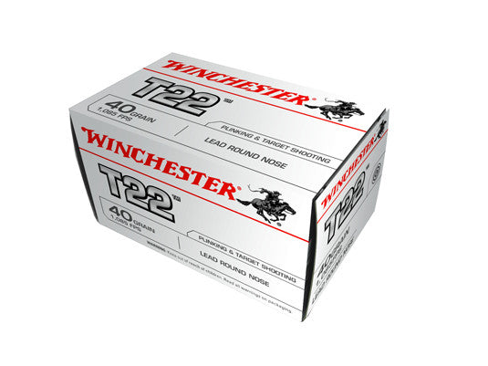Winchester .22LR 40gr T22