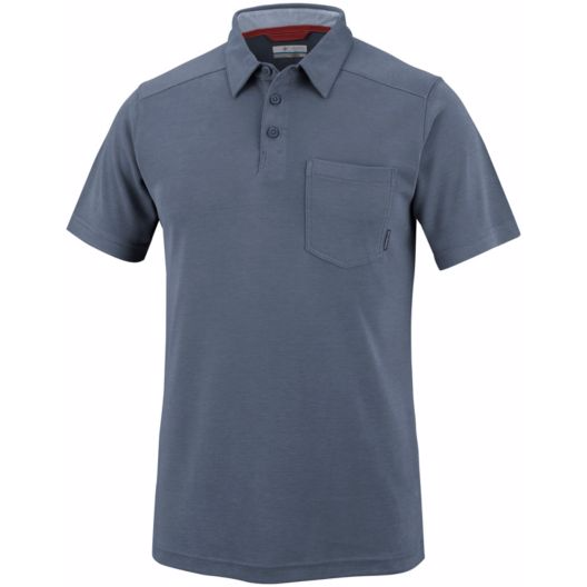 Columbia Mens Sun Ridge II Novelty Polo