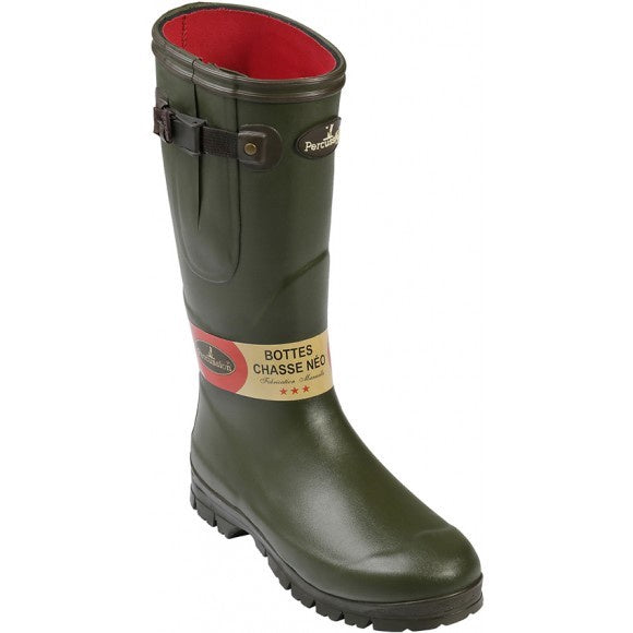 Percussion Sologne Neoprene Wellington Boots