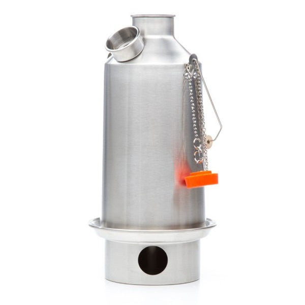 Kelly Kettle 1.6L Base Camp Stainless Steel Kettle