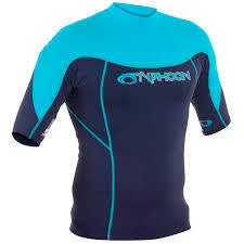 Typhoon Mens Short Sleeve Rash Vest