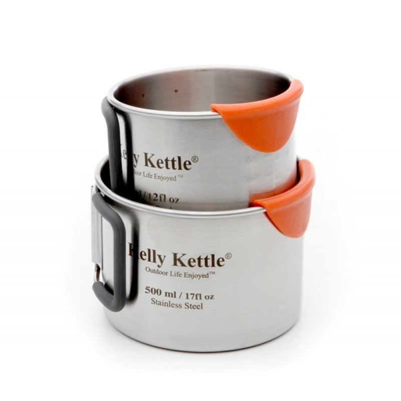 Kelly Kettle 2 Stainless Steel Cups