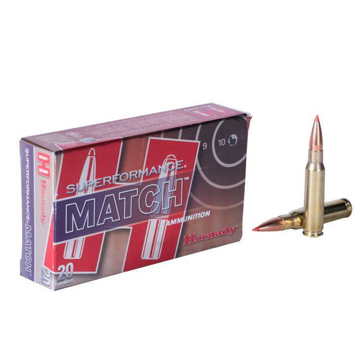 Hornady .223 75gr BTHP Superformance Match